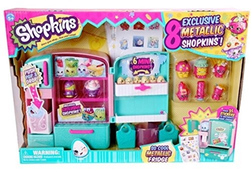ASINB0175L92VE TAGshopkins Shopkins So Cool Metallic Fridge