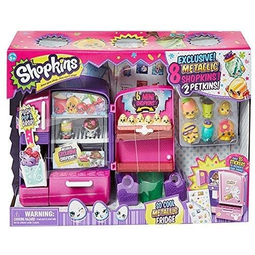 ASINB01BDWQ070 TAGshopkins Shopkins So Cool Metallic Fridge