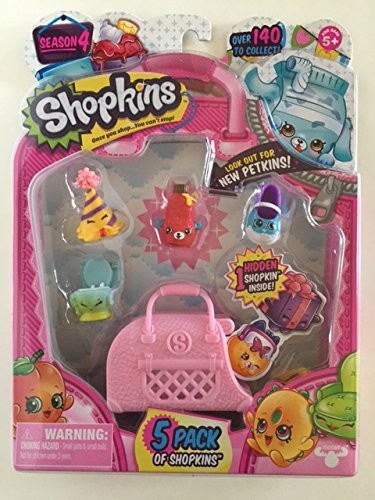 ASINB01BH5IAGM TAGshopkins Season 4 5 Pack