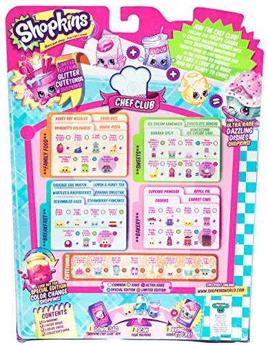 photograph relating to Shopkins Checklist Printable named Shopkins Year 4 Package deal - 2 12 Packs Different Types
