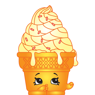 New Loose Season 2 Shopkin Sweet Treats 2-058 Ice-Cream Dream