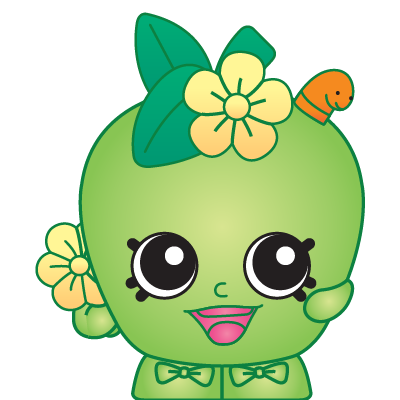 Shopkins apple blossom. A common shopkin