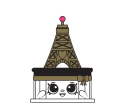 #8-012 - Ella Tower Cake - Rare