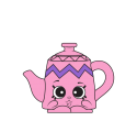#8-028 - Potty Teapot - Rare
