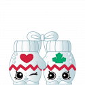 #8-173 - Hug 'n' Snug Mittens - Common