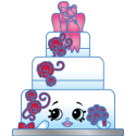 #3-008 - Wendy Wedding Cake - Rare