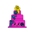 #BB-020 - Wendy Wedding Cake - Exclusive