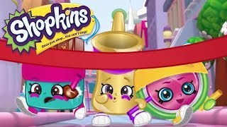 Shopkins Cartoon race to the finish | videos for kids
