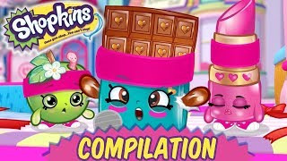 Shopkins Cartoon Shopkins 🥇 THE SHOPVILLE GAMES | FULL EPISODES 🏆 Cartoons for kids 2019