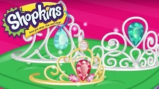 Shopkins Cartoon sparkly party crowns | cartoons for children