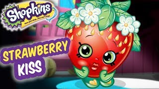 Shopkins Cartoon strawberry kiss 🍓 compilation ❤️ shopkins cartoons for kids 2019