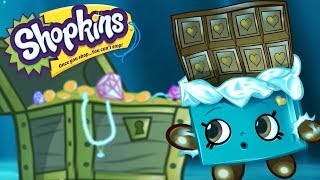 Shopkins Cartoon sunken treasure | cartoons for children