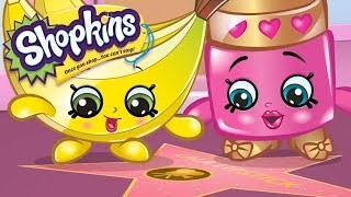 Shopkins Cartoon walk of fame | cartoons for children